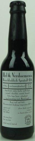 De Molen Hel & verdoemenis bruichladdich barrel aged  Wederom een mooie versie in de Hel & Verdoemenis reeks. Als je van SCHOTSE Whisky houdt, dan houd je van deze Hel & Verdoemenis!