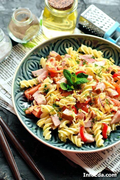 вкусный салат сделать быстро