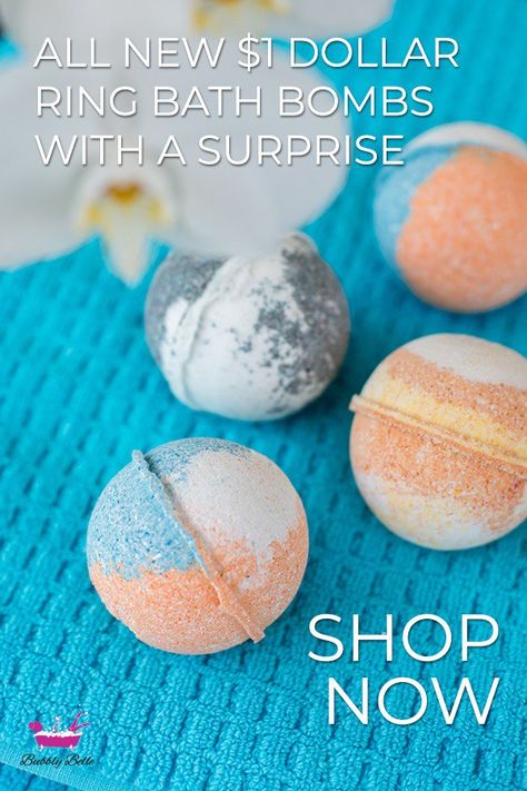A Variety Of Bath Bombs That Were Created To Give You The Comfort And Rejuvenation That You Have Been L Bath Bombs With Rings Homemade Bath Products Bath Bombs