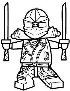 32 Desenhos De Ninjago Para Colorir Pintar Imprimir Lego Para