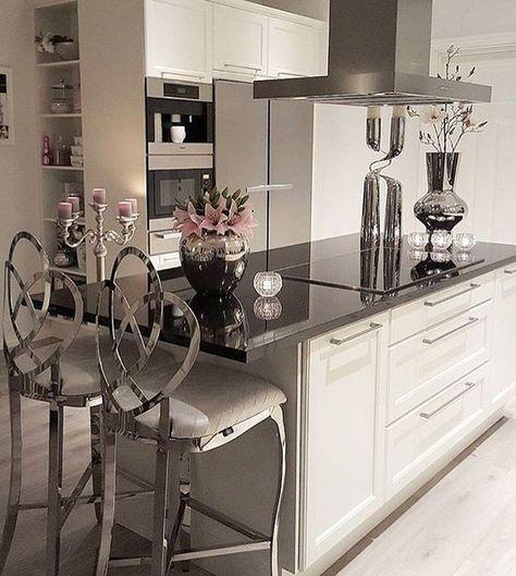 ♡ ᒪOᑌIᔕE ♡ | Cucine bianche moderne | Arredamento d ...
