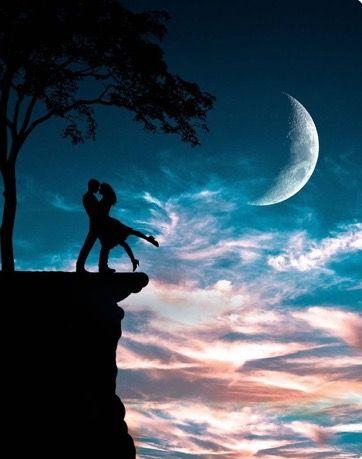 Pin By A Alali55 On صور خيال خلفيات قاشا خلفيات جوال Love Wallpapers Romantic Moon Art Romantic Art