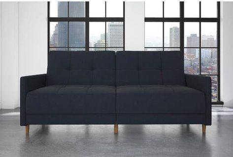 Geraldton Linen Convertible Sofa