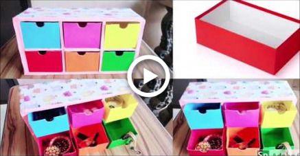 Cute Organizer Out Of Shoe Box Diy Diy Shoe Box Diy Diy Box
