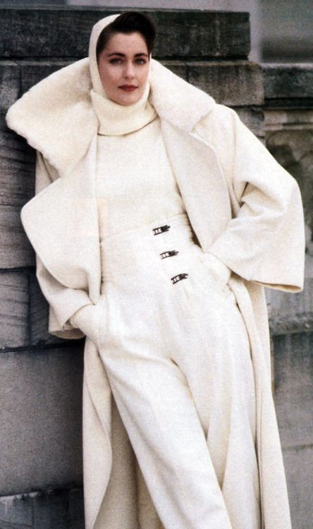 Claude Montana, US Vogue, September 1987