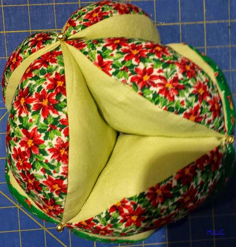 Amish Puzzle Ball Instructions.Instructions For Handmade Amish Puzzle Ball Pincushion Pattern