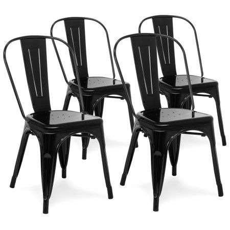 Home Metal Dining Chairs Black Metal Dining Chairs Bistro Chairs