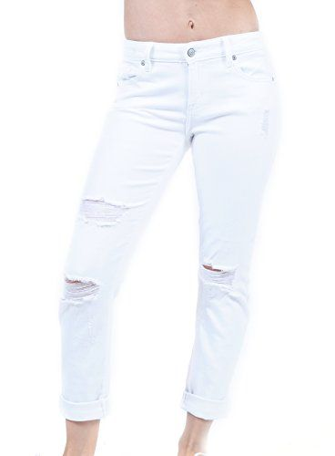 Vervet by Flying Monkey Jeans Fallen Star Light Wash Mid Rise Crop Raw Hem Skinny VT1203