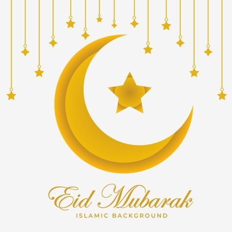 Golden Moon With Stars Background Moon And Stars Clipart Eid Ramadan Png And Vector With Transparent Background For Free Download Star Background Star Clipart Star Art