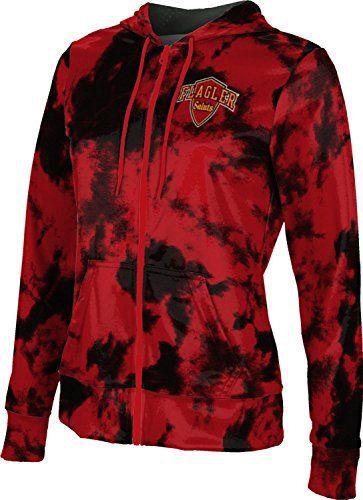 School Spirit Sweatshirt ProSphere George Mason University Girls Zipper Hoodie Grunge