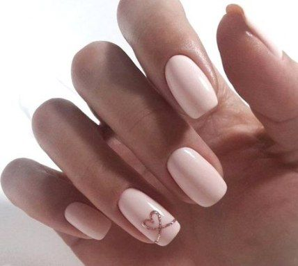 54 Trendy Nails Ideas For Prom Gel Nail Designs Valentines Heart Nails Heart Nail Designs