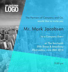 Online Corporate Invitation Cards Eventkingdom Corporate