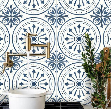 4stk 15cm Tile Stickers Kitchen Tile Picture Tile Decoration Stickers Tile Decor