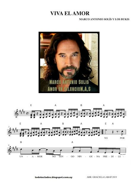 Viva El Amor Marco Antonio Solis Los Bukis Marco Antonio Solis Andy Gibb