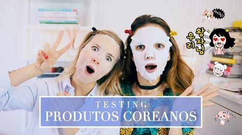 TESTÁMOS PRODUTOS COREANOS c/ Alice Trewinnard | A Maria Vaidosa