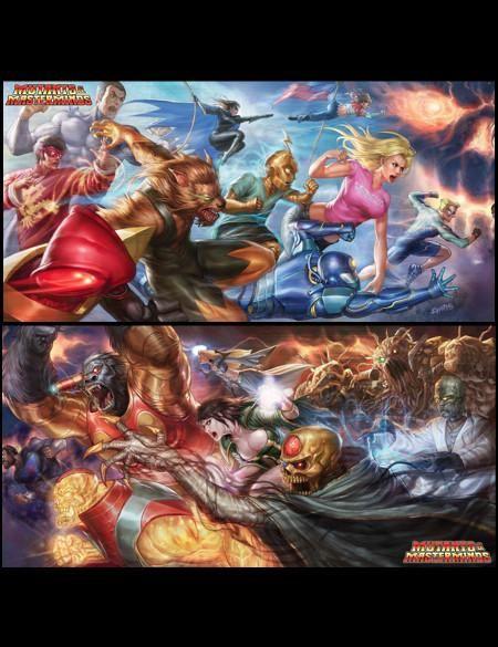 Mutants Masterminds Gm S Kit Pdf In 2021 Mastermind Mutant Superhero Campaign