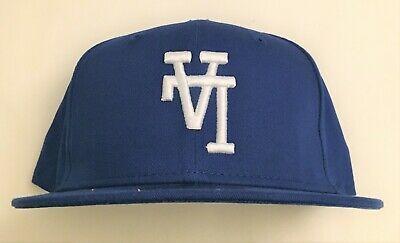 La Upside Down Los Angeles Royal Hat New Era Flat Bill New Era Baseball Hats Hats