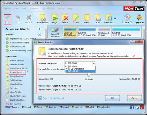 All In One Solution Disk Management Can T Extend Boot Partition