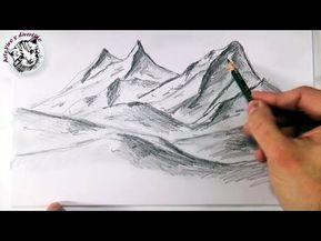 Cómo Hacer Dibujos Fáciles A Lápiz Paso A Paso Guia única Videos Cómo Dibujar Montañas Paisaje A Lapiz Cómo Hacer Dibujos Fáciles
