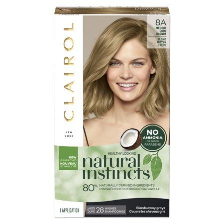 Beauty In 2020 Clairol Natural Instincts Permanent Hair Color Semi Permanent Hair Color
