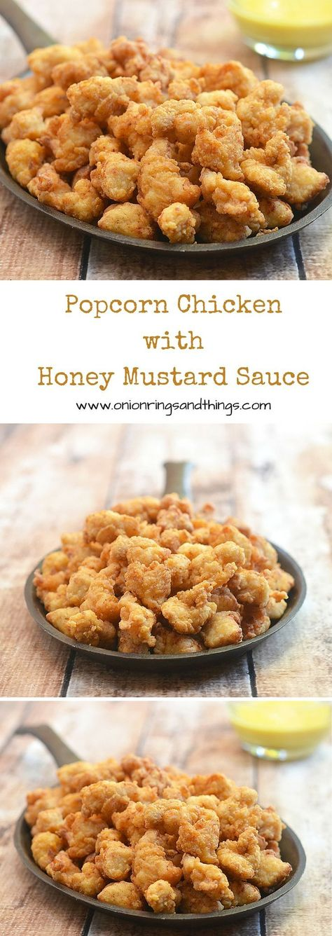 With one secret ingredient which makes it light and crisp, this popcorn chicken is absolutely delicious and addicting. Make a huge batch, it will go quickly