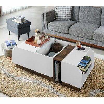 Wrought Studio Portola Modern Coffee Table Wayfair Coffee