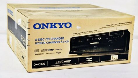 New Onkyo DX-C390 CD Changer 6 Disc CD Player DXC390 CD /& MP3 Player