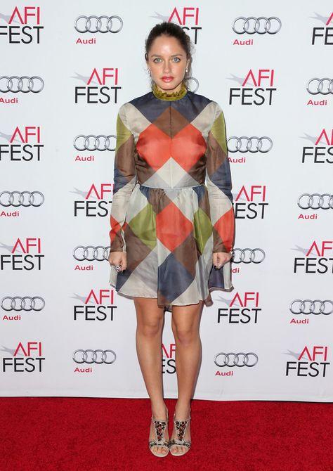 Actress Matilde Gioli arrives at AFI FEST 2014 Presented