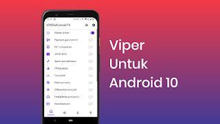 Cara Pasang Viper4android Di Android 10 Q Https Ift Tt 30hiw2b Android Musik Blog