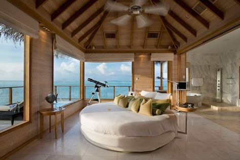 15 Bucket List Hotels We're Completely Obsessed With #refinery29  http://www.refinery29.com/famous-hotels-travel-ideas#slide-14  Conrad Maldives Rangali Island(continued)Coolest Amenity: One...