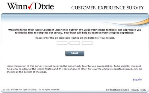 WinnDixie Customer Experience Survey WwwWinnDixiesurveyCom