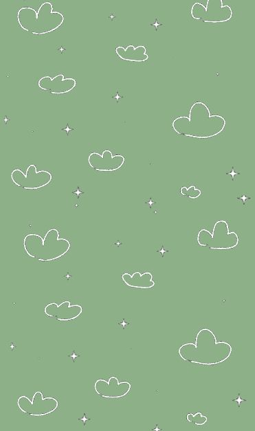 Green Screensaver With Clouds Green Aesthetic Mint Green Aesthetic Cute Screen Savers