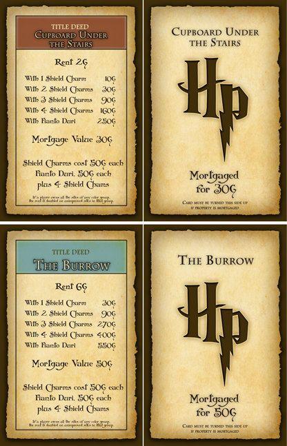 Harry potter monopoly by funkblast harry potter monopoly harry potter monopoly by funkblast harry potter monopoly monopoly board and monopoly solutioingenieria Gallery
