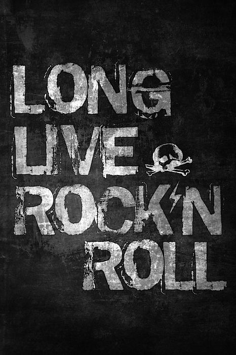 Long live rock and roll, rock & roll, rock n roll, rock music, hard rock, heavy metal, punk rock, grunge, musi… | Rock n roll art, Rock and roll quotes, Rock...