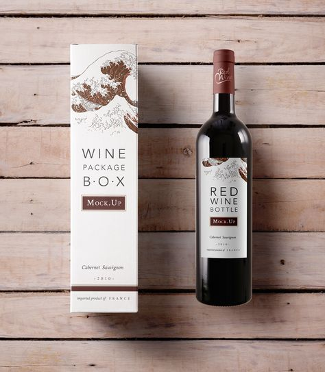 Download 23 Mock Ups Ideas Wine Box Box Mockup Mocking