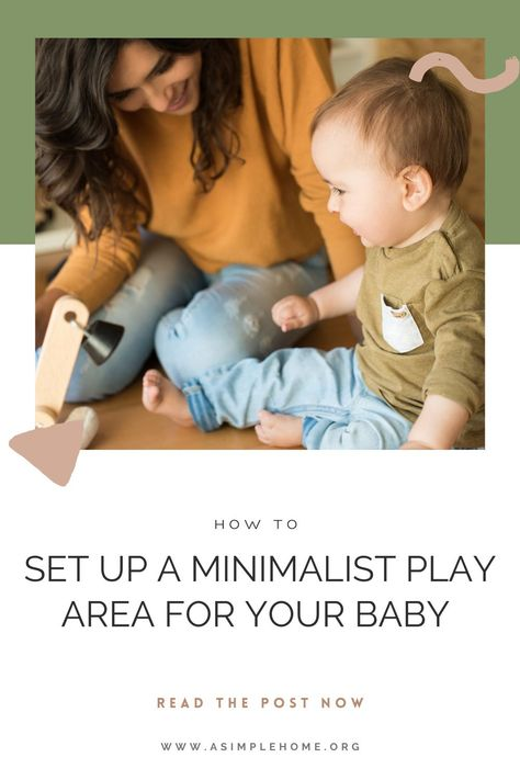 A Minimalist Play Area for Your Baby