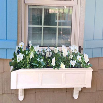 Each Window With Its Own Perfect Flower Box Cape Cottage Perfection Via Clinemassrealty Do You Have Flower Boxes Cot House Dream Cottage Cottage