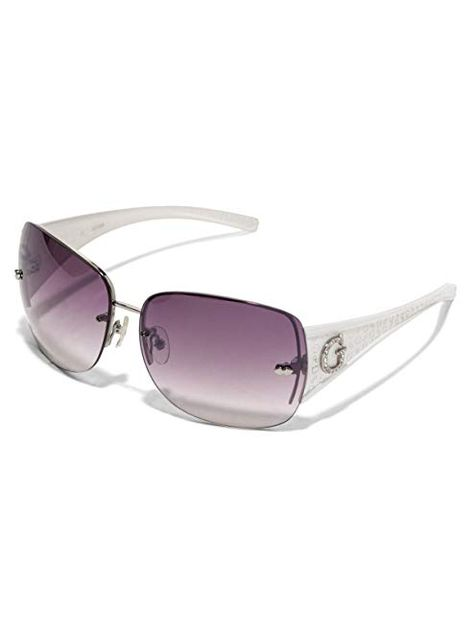 GUESS Factory Women's Rimless Shield Sunglasses Review