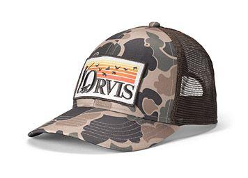 Retro Flush Trucker Hat Hats For Men Trucker Hat Trucker