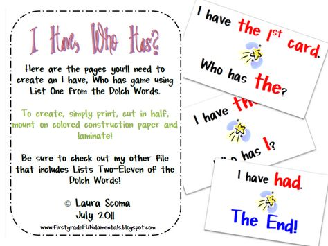 Word Study Games For First Grade Word Study Games For First