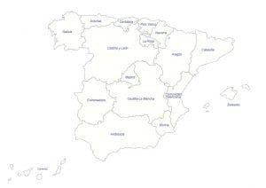 Mapas Físicos Y Políticos De España Para Imprimir Mapa Fisico Mapas Imprimir Sobres