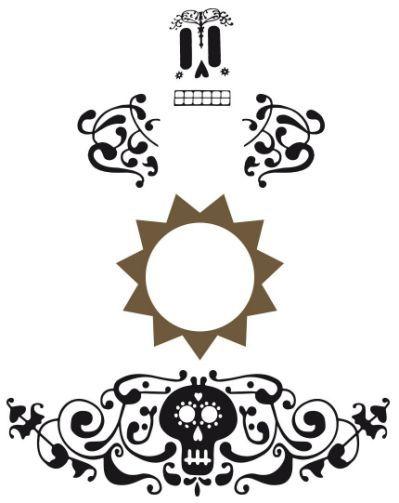 Stickers Para Guitarra Coco Fiesta De Coco Decoracion