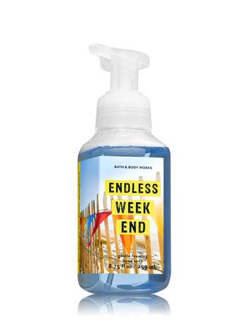 Endless Weekend Gentle Foaming Hand Soap Bath And Body Works