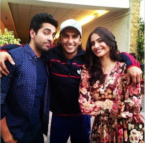 Image result for ranveer singh and ayushmann