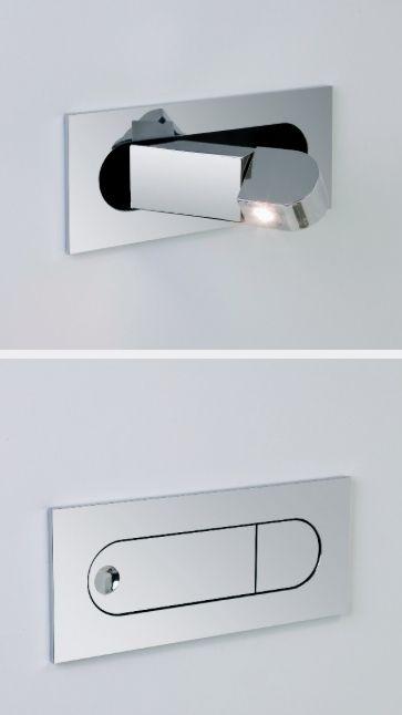 Modern Led Flush Mount Bedside Reading Light In 2019 Lighting Wall Lights