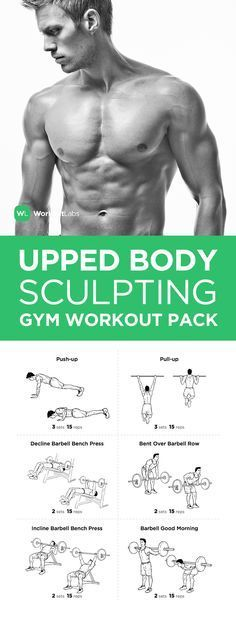 Upper Body Sculpting Gym Workout Pack For Men Women