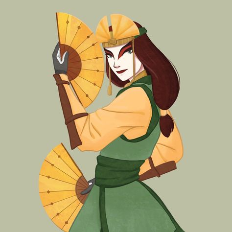 I Really Love Aang As An Avatar But Kyoshi Is So Badass Avatar Kyoshi Kyoshi Avatar Avatar Kyoshi Art Avatar kyoshi phone wallpaper