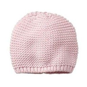 The GAP - Pink garter-stitch knit hat - see pattern  Garter Stitch Hat    Booties by the Artfulthrifter inspired by the Gap …  6582211abb4