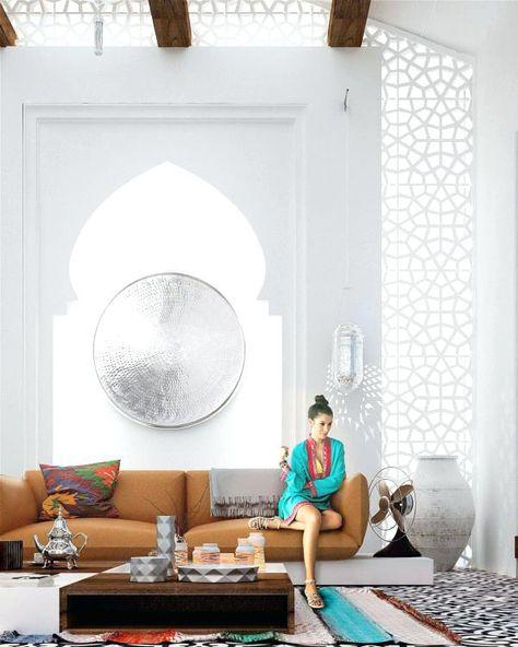 Moderne Marokkanische Einrichtung #marokkanischestil #salon #wohnstil  #wohnideen #sitzecke #orientalischewohnideen #lampen #türkis #schlafzimmer  #sitzkissen