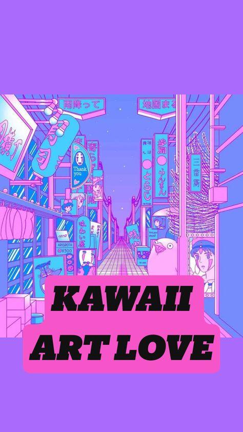 KAWAII ART LOVE